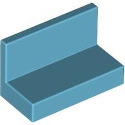 Medium Azure Panel 1 x 2 x 1 with Rounded Corners - new