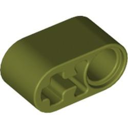 Olive Green Technic, Liftarm Thick 1 x 2 - Axle Hole