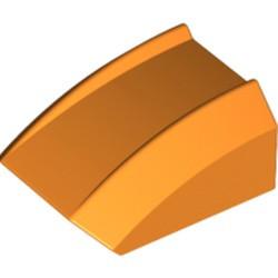 Orange Slope, Curved 2 x 2 Lip