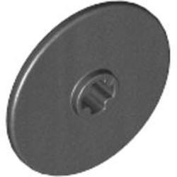 Pearl Dark Gray Technic, Disk 3 x 3 - used