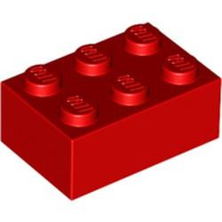 Red Brick 2 x 3 - used