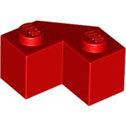 Red Brick, Modified Facet 2 x 2 - new
