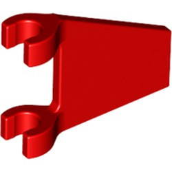Red Flag 2 x 2 Trapezoid - used