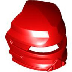 Red Minifigure, Visor Fanciful for Santis - used