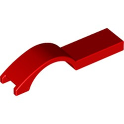 Red Vehicle, Mudguard 1 x 4 1/2 - used