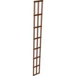 Reddish Brown Boat, Mast Rigging Long 28 x 3.5