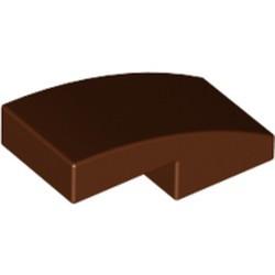 Reddish Brown Slope, Curved 2 x 1
