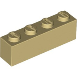 Tan Brick 1 x 4 - new