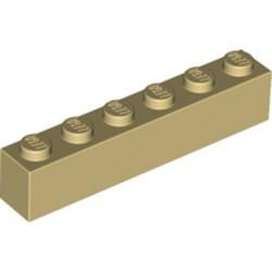 Tan Brick 1 x 6 - new