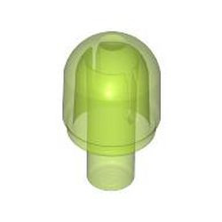 Trans-Bright Green Bar with Light Cover (Bulb) - new / Bionicle Barraki Eye