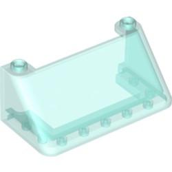 Trans-Light Blue Windscreen 3 x 6 x 2