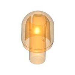 Trans-Orange Bar with Light Cover (Bulb) / Bionicle Barraki Eye - new