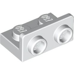 White Bracket 1 x 2 - 1 x 2 Inverted - used