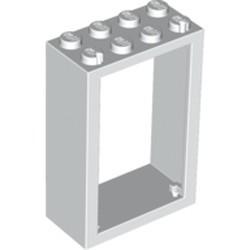 White Door, Frame 2 x 4 x 5