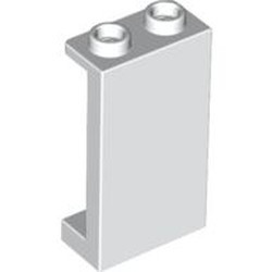 White Panel 1 x 2 x 3 with Side Supports - Hollow Studs