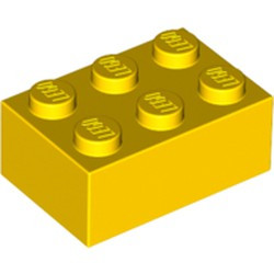 Yellow Brick 2 x 3 - new