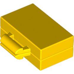 Yellow Minifigure, Utensil Briefcase / Suitcase