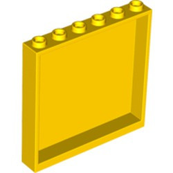 Yellow Panel 1 x 6 x 5 - used