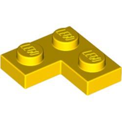 Yellow Plate 2 x 2 Corner