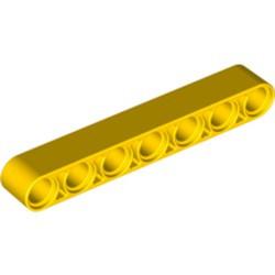 Yellow Technic, Liftarm Thick 1 x 7
