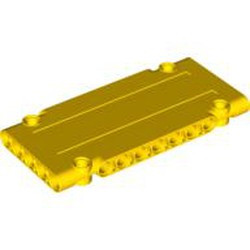 Yellow Technic, Panel Plate 5 x 11 x 1 - new