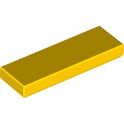 Yellow Tile 1 x 3 - new