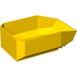 Yellow Vehicle, Tipper Bed 12 x 8 x 3 1/3 - used