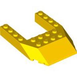 Yellow Wedge 6 x 8 Cutout - used