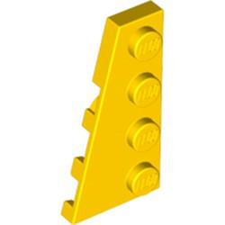 Yellow Wedge, Plate 4 x 2 Left