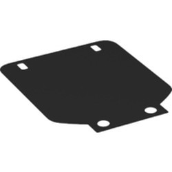 Black Cloth Vehicle Roof Fiat with Four Holes - new