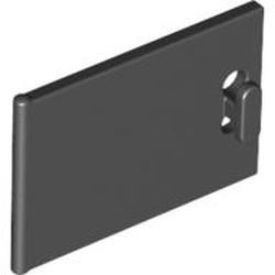 Black Container, Cupboard 2 x 3 x 2 Door - used
