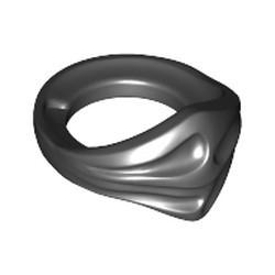 Black Minifigure, Bandana Ninja - used