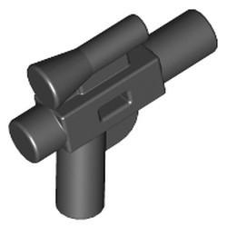 Black Minifigure, Weapon Gun, Blaster Small (SW) - new
