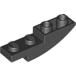 Black Slope, Curved 4 x 1 Inverted