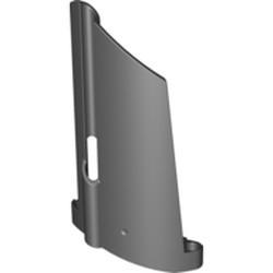 Black Technic, Panel Fairing #20 Large Long, Small Hole, Side A