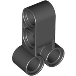 Black Technic, Pin Connector Perpendicular Double 3L