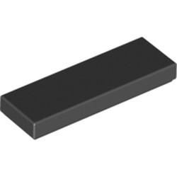 Black Tile 1 x 3 - new