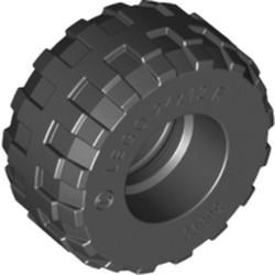 Black Tire 24 x 12 R Balloon