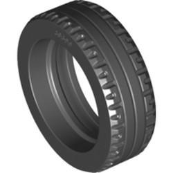Black Tire 43.2 x 14 Solid