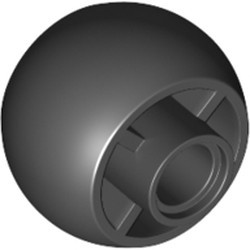 Black Wheel 18 x 14 Smooth