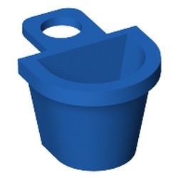 Blue Minifigure Container D-Basket