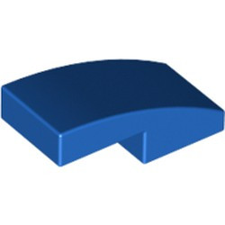 Blue Slope, Curved 2 x 1 - new