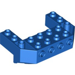 Blue Train Front Sloping Base with 4 Studs