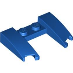 Blue Wedge 3 x 4 x 2/3 Cutout - used