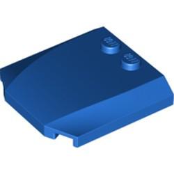 Blue Wedge 4 x 4 x 2/3 Triple Curved