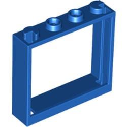 Blue Window 1 x 4 x 3 - No Shutter Tabs - new