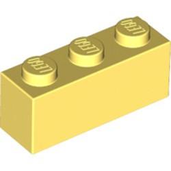 Bright Light Yellow Brick 1 x 3
