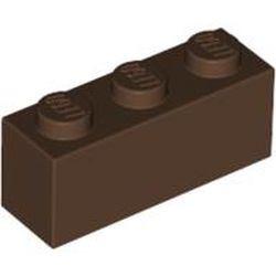 Brown Brick 1 x 3