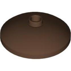 Brown Dish 3 x 3 Inverted (Radar) - used