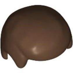 Brown Minifigure, Hair Male - used